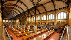 The most magnificent places to read in the world. Tianjin, Baltimore, Peabody Library, Library Of Alexandria, City Library, Fontainebleau, Boston Public Library, Best Books To Read, Steel Buildings