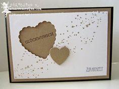 stampin up, wedding, hochzeit, hearts a flutter, gorgeous grunge, eins für alles, and many more