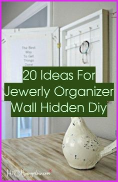 Jewelry Organizer Wall Hidden | 20+ Ideas For Jewerly Organizer Wall Hidden Diy | Jewelry Organizer | Jewelry Organizer Wall Diy Dollar Stores Fork Jewelry, Diy Jewelry, Beaded Jewelry, Jewelry Making, Jewelry Organizer Wall, Wall Organization, Jewelry Organization, Decorated Wine Glasses, Make Your Own