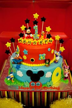 Mickey Mouse Clubhouse Birthday Party Ideas | Photo 1 of 37 | Catch My Party