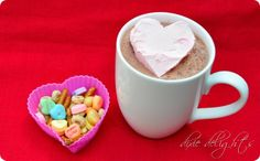 cool whip hearts & hot chocolate
