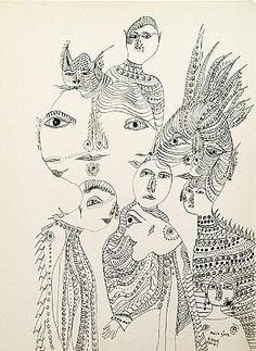 Unica Zurn was a German artist and author (1916-1970)