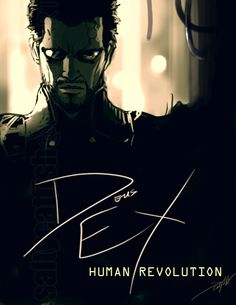 DEUS EX: Human Revolution by saltycatfish.deviantart.com on @deviantART