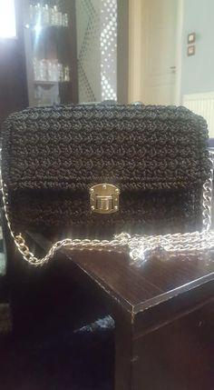 Shoulder bag Handmade Bags, Shoulder Bag, Crochet, Handmade Handbags, Shoulder Bags, Ganchillo, Crocheting, Knits, Chrochet