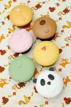 Magdalenas de Animales / Animal Cupcakes