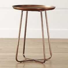 "$189 - 10%. 20"" high x 16"" dia. Penelope Table from Restoration Hardware"