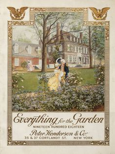 Catalogue of everything for the garden / Peter Henderson & Co. :: Nursery and Seed Catalogs
