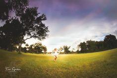 Maddie by Tori Gansen on 500px - Child photography - golden hour - Canon Fisheye
