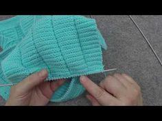Örgü ile Robadan Erkek Hırka Takımı Yapımı - 36. Model (1/5) ● Örgü Modelleri - YouTube