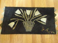 """In the Bleak Midwinter""  design by Maggie Bonanomi  a Country Sampler Girls Club Kit"