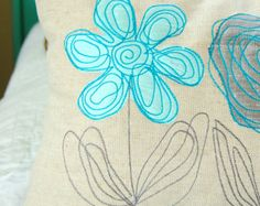 Scribbled Daisy - Machine Embroidery Designs