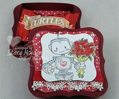 Valentine Gift Box using Beep Beep I love you. http://twinshappy.blogspot.com/2013/02/valentine-treat-box.html