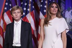 Barron Trump and his mum Melania are relocating to Washington D.C. in the summer