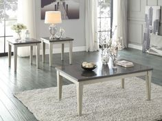Home Elegance Mendel Cocktail Table with Bluestone Marble Top 5280-30