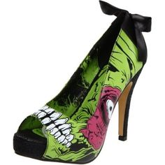 I love me some zombie stripper shoes! $45.00 on Endless by Amazon.