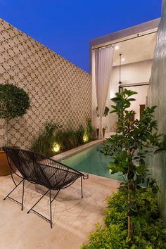 Casa del Limonero: Albercas de estilo moderno por Taller Estilo Arquitectura