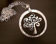 Tree of life Tree Necklace, Tree Of Life, Pendants, Bracelets, Handmade, Etsy, Jewelry, Bangle Bracelets, Hand Made