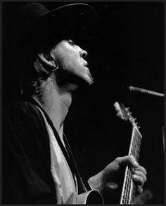 Stevie Ray Vaughn photo by Dennie Tarner from Handbook of Texas Music, 2nd Edition