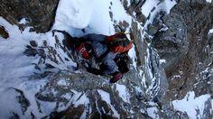 Grandes Jorasses north face speed solo- Ueli Steck