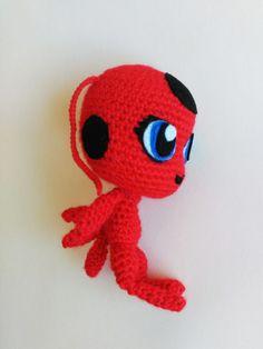 Tikki amigurumi, Miraculous Ladybug doll, tikki doll, miraculous ladybug, tikki plush, ladybug amigurumi, ladybug plush, ladybug toy, Lady bug doll, Lady bug toy, Lady bug plush, Miraculous Lady bug, Tikki ladybug. ______________________________________________________ Amigurumi of Tikki