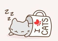 Resultado de imagen para gatos kawaii