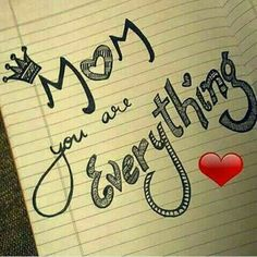 Every Mom in this world Is a reflection of Wow. I Love U Mom, Dear Mom And Dad, Love My Parents Quotes, Mom And Dad Quotes, I Love My Parents, Mother Daughter Quotes, True Love Quotes, Mother Quotes, Besties Quotes