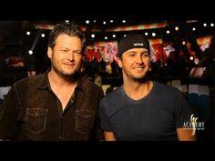 BLUKE: Behind the Scenes with Blake Shelton & Luke Bryan - 2013 ACM Awards