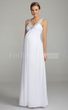 maternity wedding dresses | Guide on Choosing Wedding Dress for ...