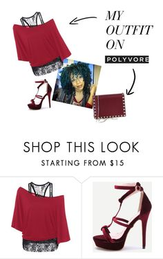 """""""Simple but pretty"""" by karmen-mv ❤ liked on Polyvore featuring Valentino"""