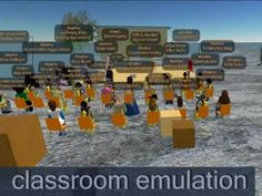 Educational Uses of Second Life -Second Life & Education Machinima Trailer
