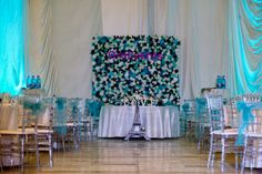 Flower wall for a perfect wedding