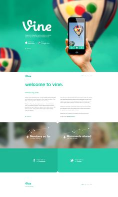 Vine-redesign-concept-home