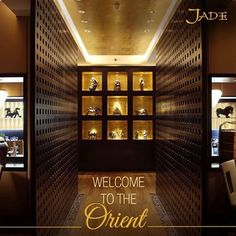 An eastern breeze beckons you to Jade - the center of authentic mainland fare.