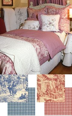 ToileBeddingAndLinens.com - Toile Bedding And Linens.com - Toile Bedding, Toile Comforters, Toile Duvet Covers