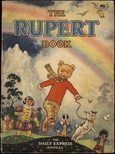 Alfred Bestall - Rupert annual - Daily Express, 1948.