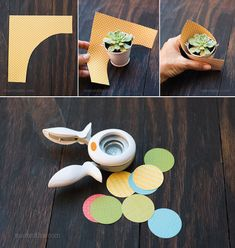 Best 12 Cómo hacer souvenirs con suculentas How to make souvenirs with succulents Succulent Wedding Favors, Succulent Gifts, Retreat Gifts, Sweet Table Wedding, Cactus Gifts, Diy And Crafts, Paper Crafts, Origami Wedding, Mini Cactus