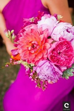 wedding ideas. Love the bright colors!
