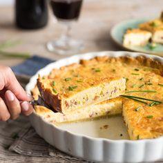 Kuchen mal herzhaft: So machst du Quiche Lorraine