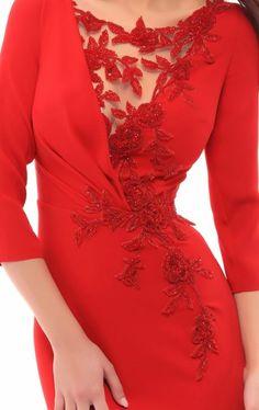 Tarik Ediz 93410 - [board_name] - Kleid Quinceanera Dresses, Prom Dresses, Formal Dresses, Mode Abaya, Mode Outfits, Elegant Dresses, Dress Patterns, Dress Skirt, Dress Lace