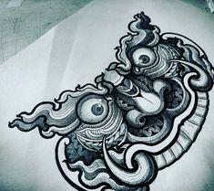 Release tattoo studio Thai ทศกัณฐ์ Line id:jack010829