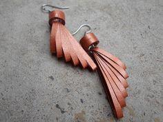 Bijoux boucles d'oreilles de papier Quilled minimaliste bijoux boucles d'oreilles tendance moderne élégante de Cooper