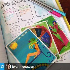 @bvanmeeuwen enjoying her 2015 oracle reading! #2015workbook #goals #oracle #bizplanning #planner www.2015workbook.com