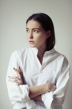 A simple white shirt