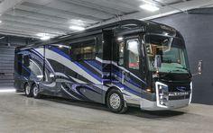 Your Bass Boat Dealer! Bus Camper, Bus Motorhome, Rv Campers, Luxury Campers, Luxury Motorhomes, Luxury Rv, Cool Rvs, Rv Floor Plans, Class A Rv