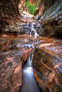 Water Canyon in Colorado City, Arizona