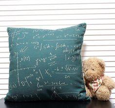 Throw Cushion Cover Soft canvas feel Linen & Cotton Pillows Cushion Cover Geometry of modern abstract mathematics 45cm*45cm  $408,40