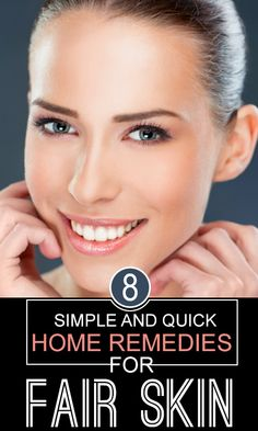8 Simple And Quick Home Remedies For Fair Skin