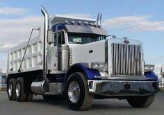 Peterbilt   Dump truck. Wagon
