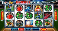 It's time for a rewarding cricket session! Microgaming guarantees an unforgettable cricket match with the 5-reel, 243-payline Cricket Star free slot with cricket players, beats, balls and fascinating features, such as Stacked Wilds, Scatters, Rolling Reels, Wild Wickets feature with Wild reels and free spins. Throw the ball and let the game start at www.SlotsUp.com