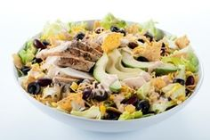 Tex Mex Salad - This salad is loaded with healthy fats and proteins that can help you lose weight. And the decadent sour cream topping is a nice source for diary. Substituting dairy for other heavier foods in your diet can help you lose weight in your upper body  but dont overdo it. Make sure to keep a reasonable daily calorie amount. healthy-dieting flat-stomach
